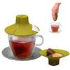 Крышка-выжималка для заваривания чая Kitchen