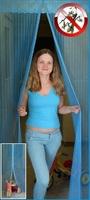 Антимоскитная Дверная сетка - штора на магнитах  для дачи, балкона