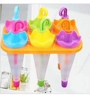 Формочки для фруктового льда и мороженого ''Зонтики''