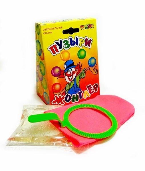 """Мыльные пузыри """"Жонглер"""" под.упаковка"""