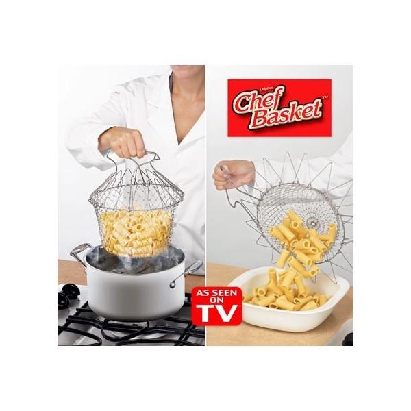 Складная корзинка для готовки ''Шеф Баскет''